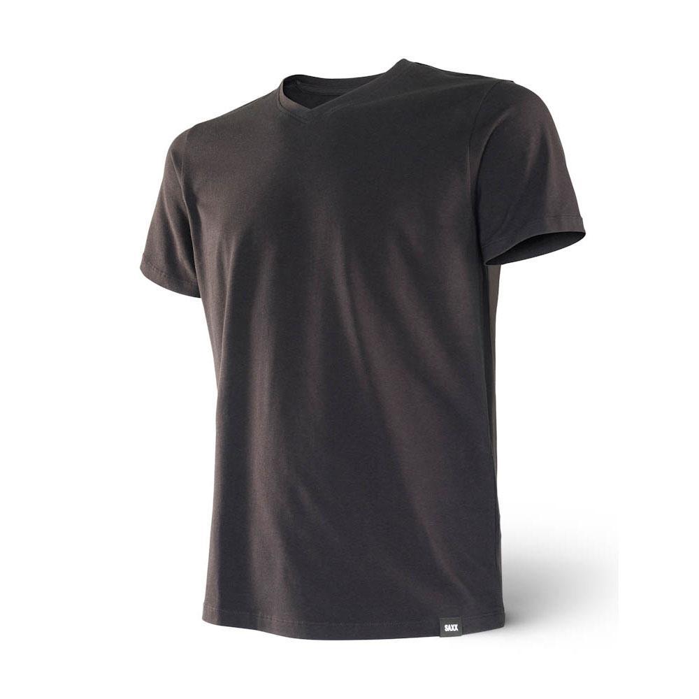 Saxx Underwear 3six Five S/s V Neck S Black