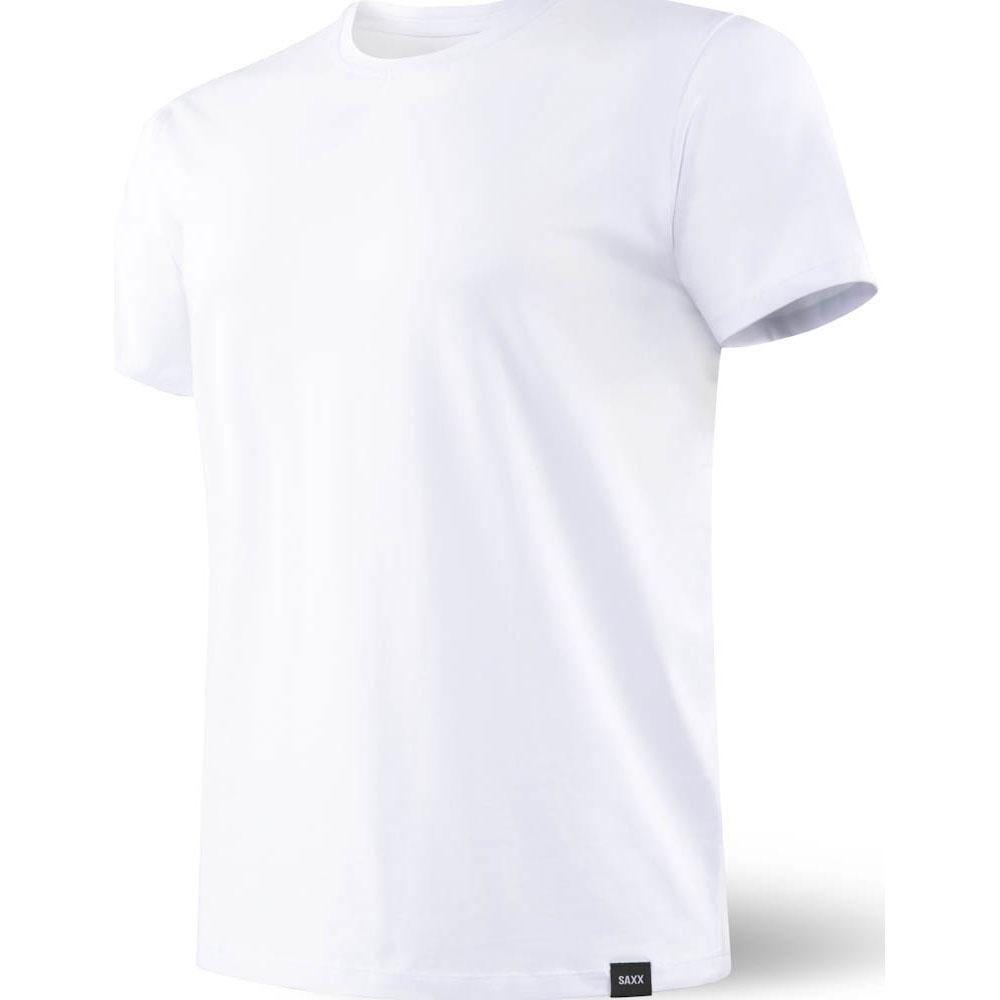 Saxx Underwear 3six Five S/s Crew Neck S White