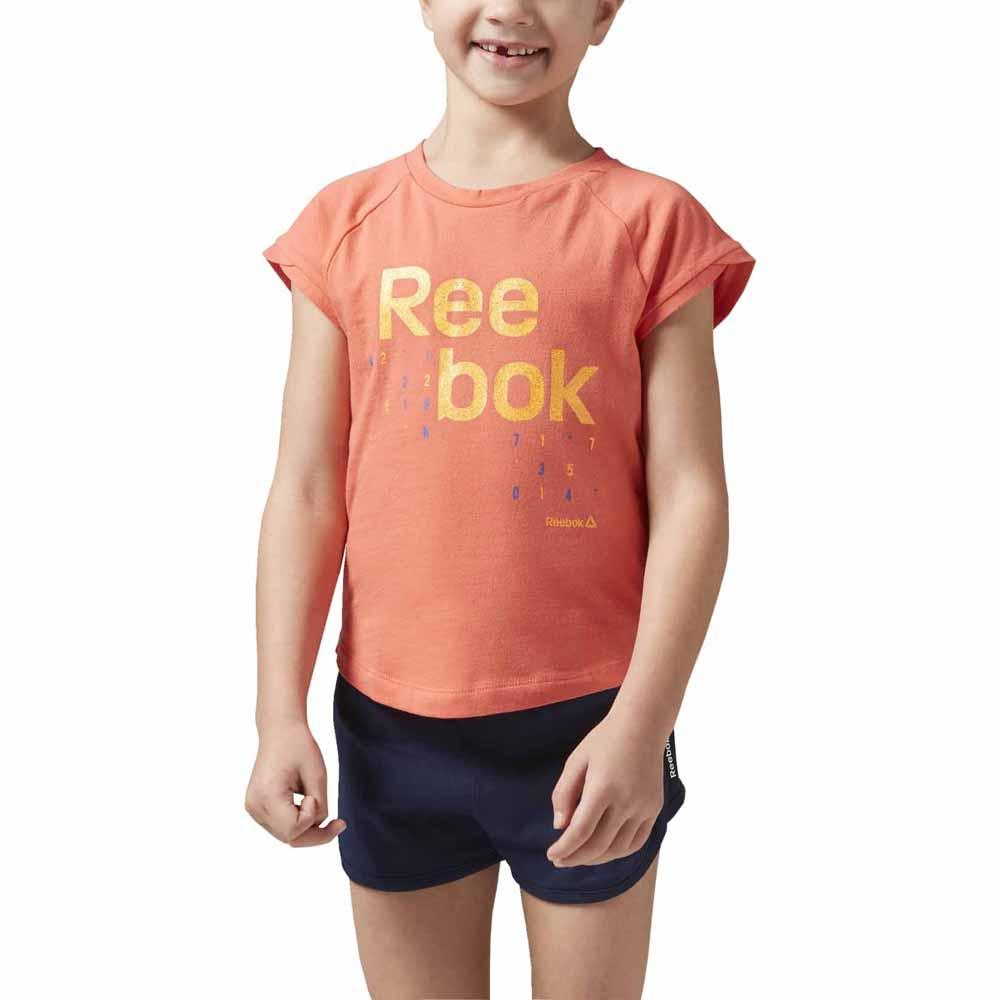 Reebok Essentials Logo 4 Years Fire Coral