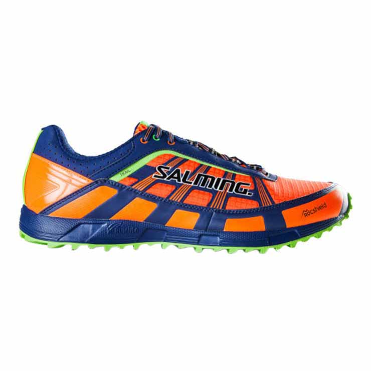 Salming Trail T3 EU 46 Shocking Orange / Deep Blue