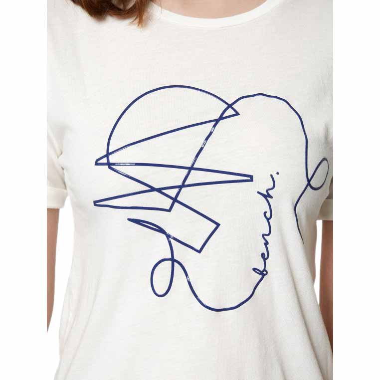 Bench Graphic Tee Tee Tee Off White , T-Shirts Bench , mode , Vêtements femme 326a2d