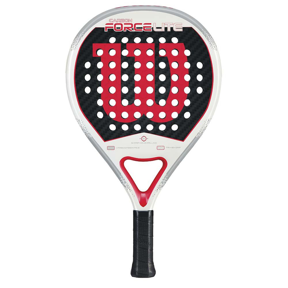 Wilson Carbon Force Lite One Size White / Red