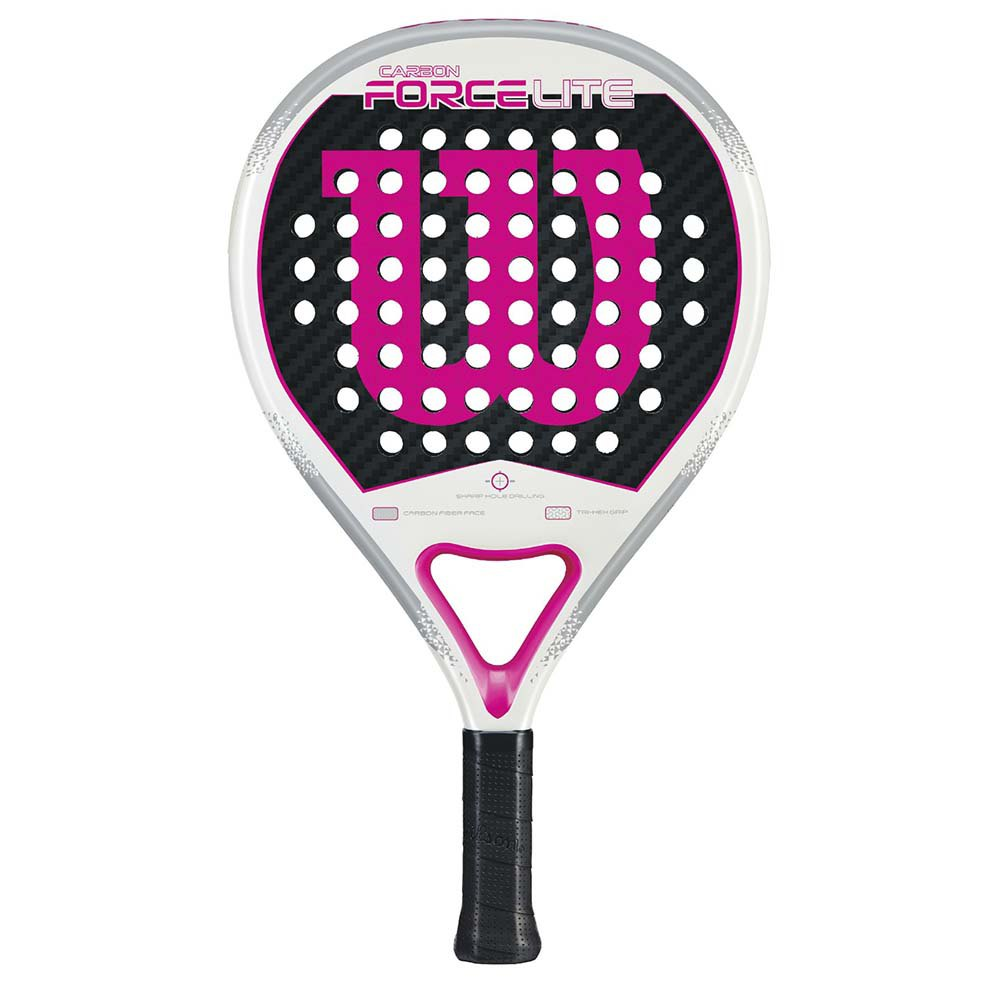 Wilson Carbon Force Lite One Size White / Pink