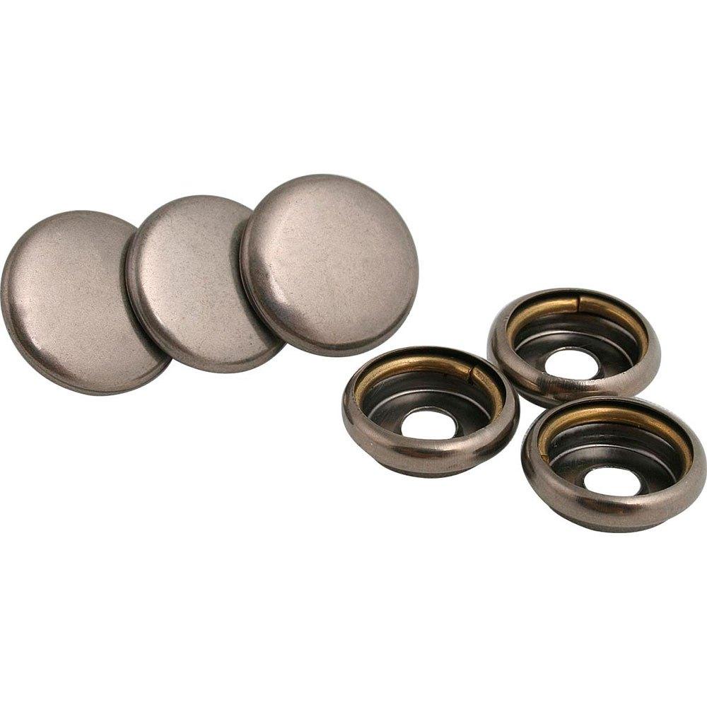 Accesoires en onderdelen 3x Upper Button Metal Dull