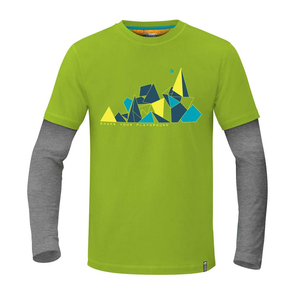 Abk Climbing Shaper L/s XXL Chartreuse