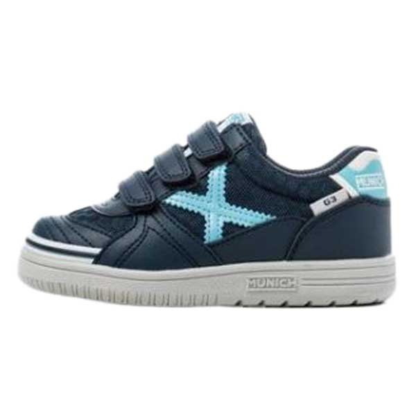 Munich G3 Mesh Velcro Kid EU 26 Navy / Blue