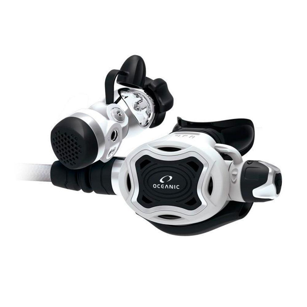 Oceanic Zeo Fdxi Maxflex+swivel Dvt Atemregler Set White Atemreglersets Zeo Fdxi Maxflex+swivel Dvt Atemregler Set