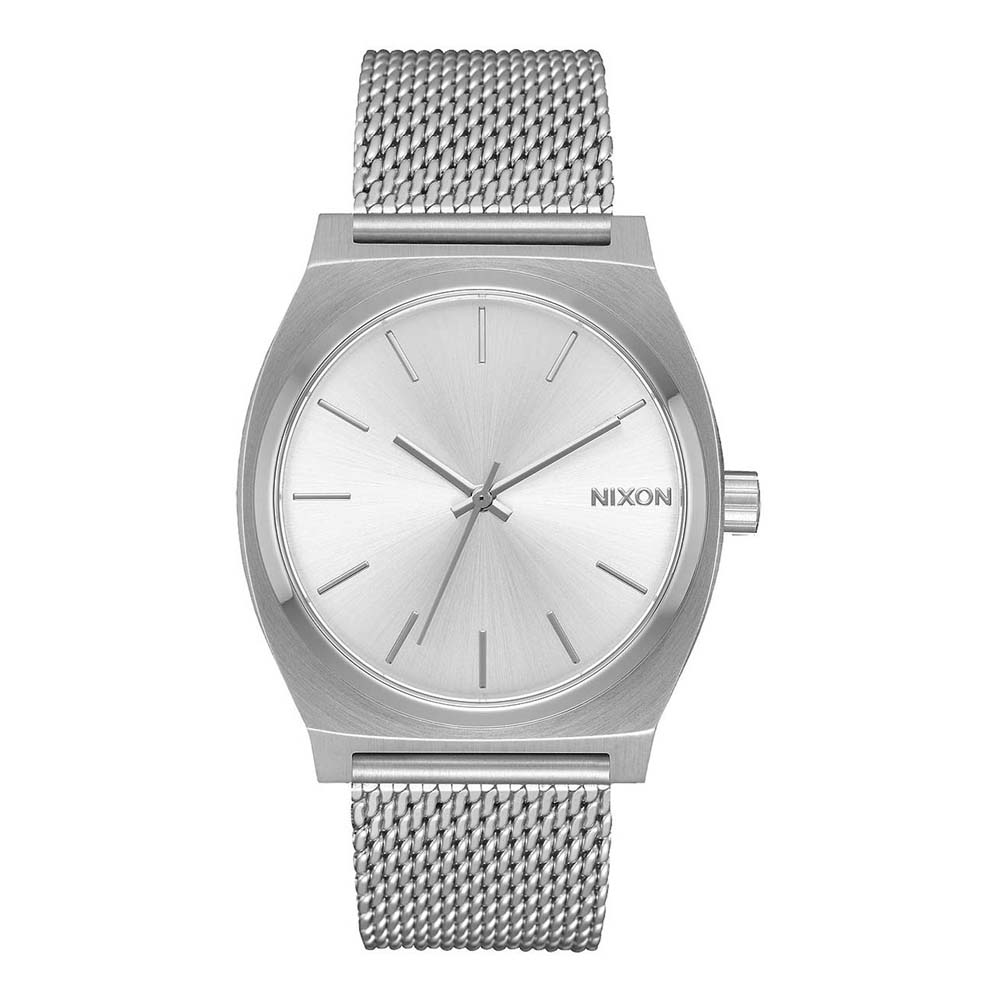 Nixon Time Teller Milanese One Size All Silver