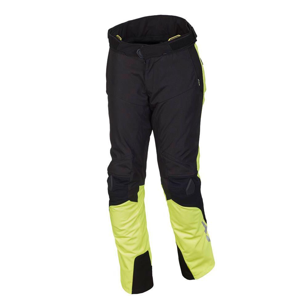 Macna Iron Pants Short L Black / Yellow