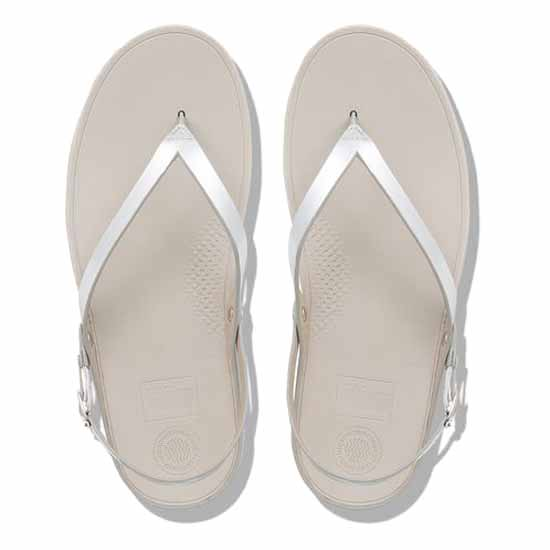 Sandales Chaussures Flip Mirror Silver Mode Femme Fitflop BpHqaFnT