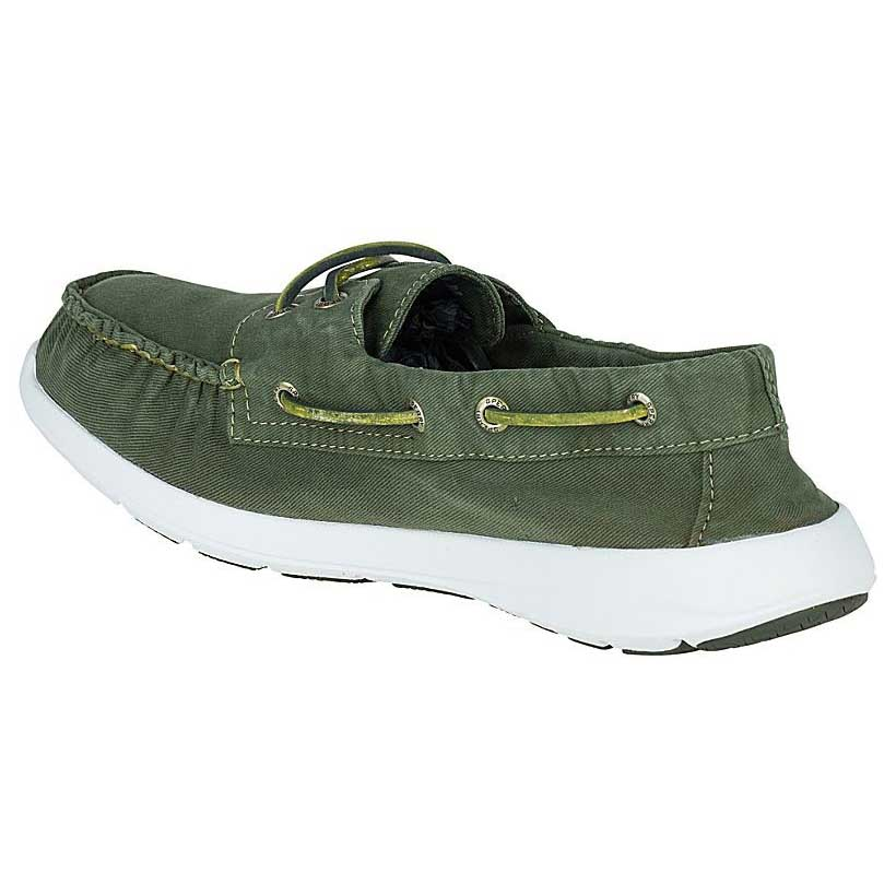 Sperry Sojourn Canvas 2 Eye Washed Canvas Sojourn Verde , Scarpe Classiche Sperry , moda d67418