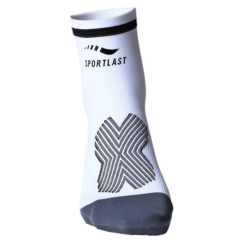 Sportlast Pro Compression Short EU 35-38 White / Black