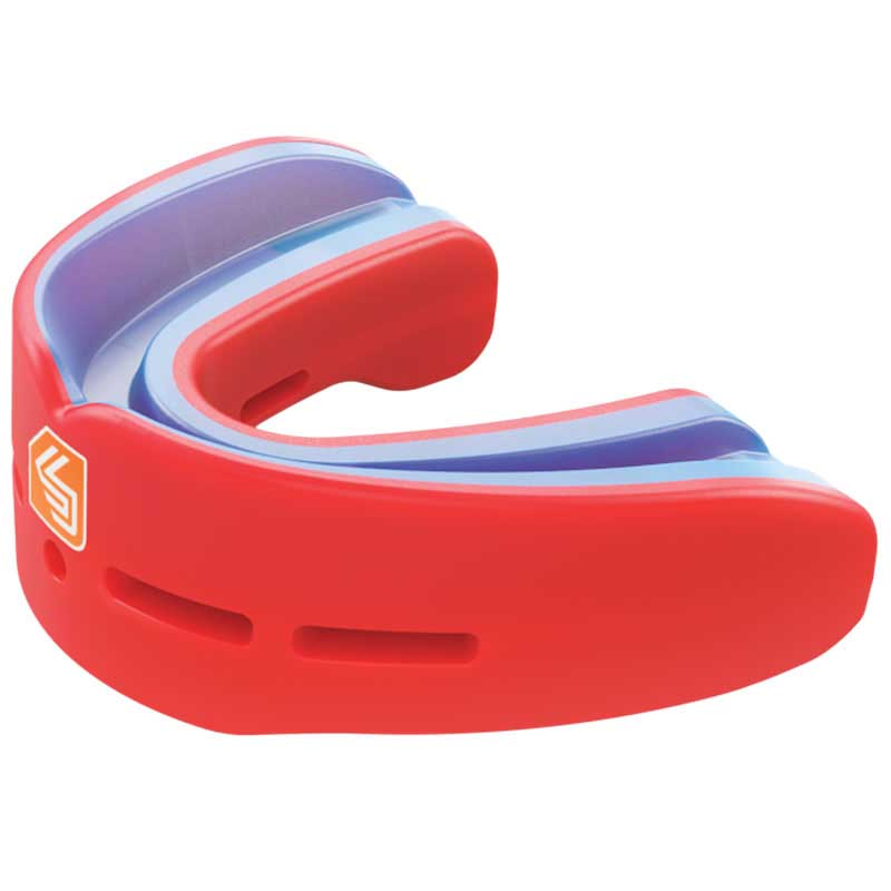 Shock Doctor Nano Double Youth One Size Red