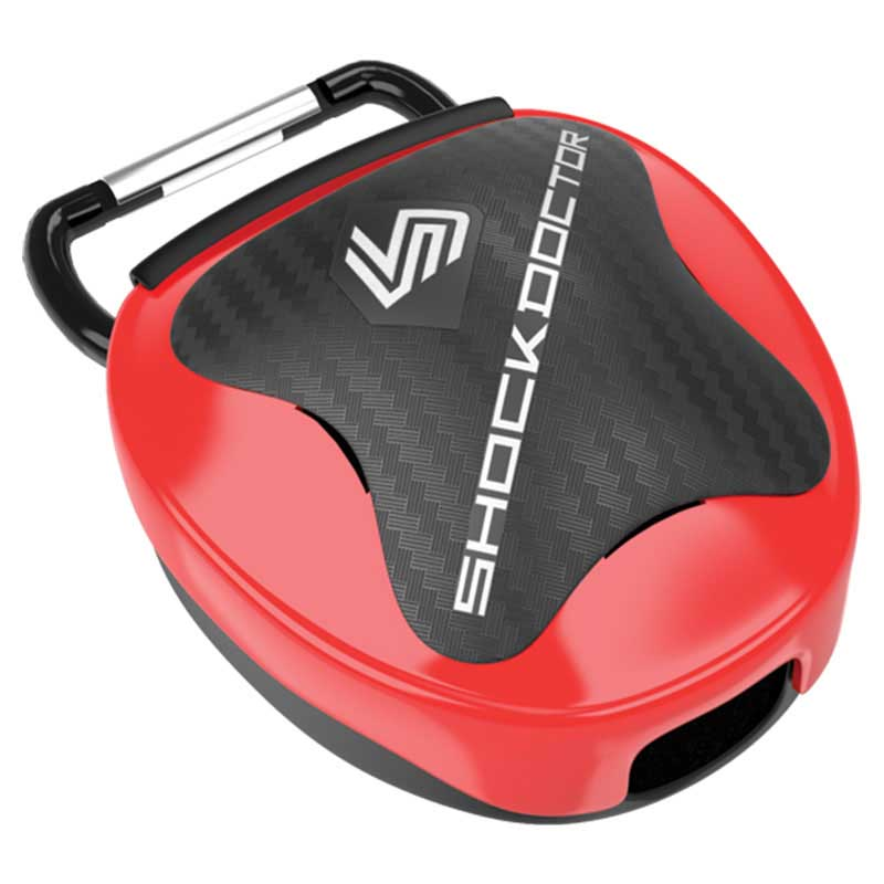 Shock Doctor Mouthguard Case One Size Red