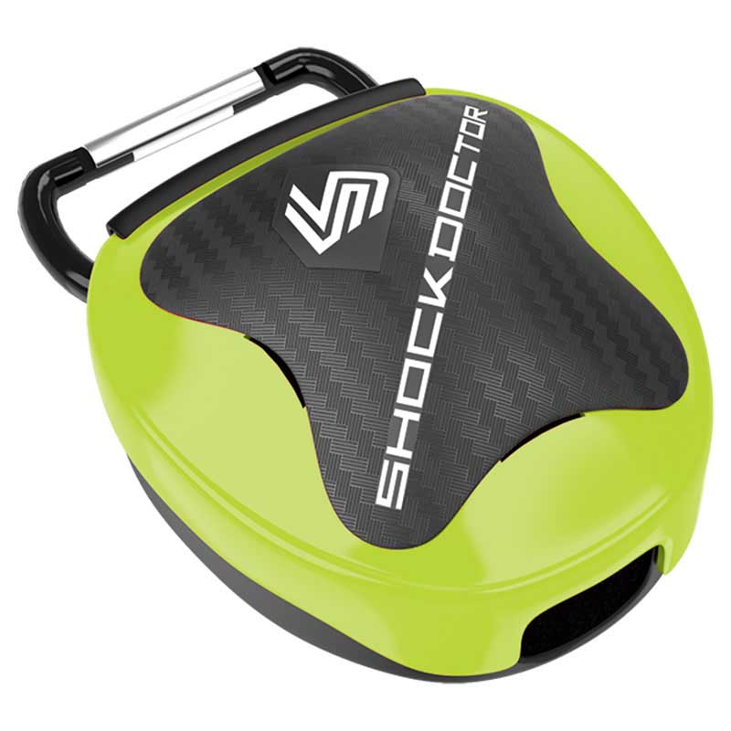 Shock Doctor Mouthguard Case One Size Shock Green