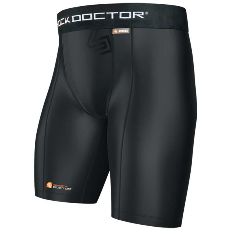 Shock Doctor Core Compression Short Boy L Black