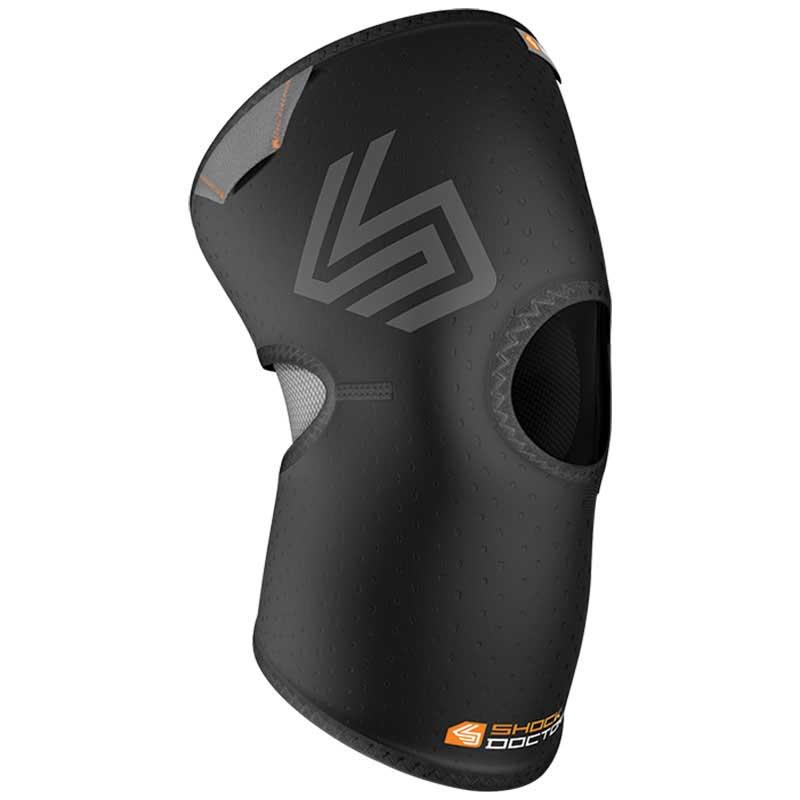 Shock Doctor Knee Compression Sleeve Open XXL Black