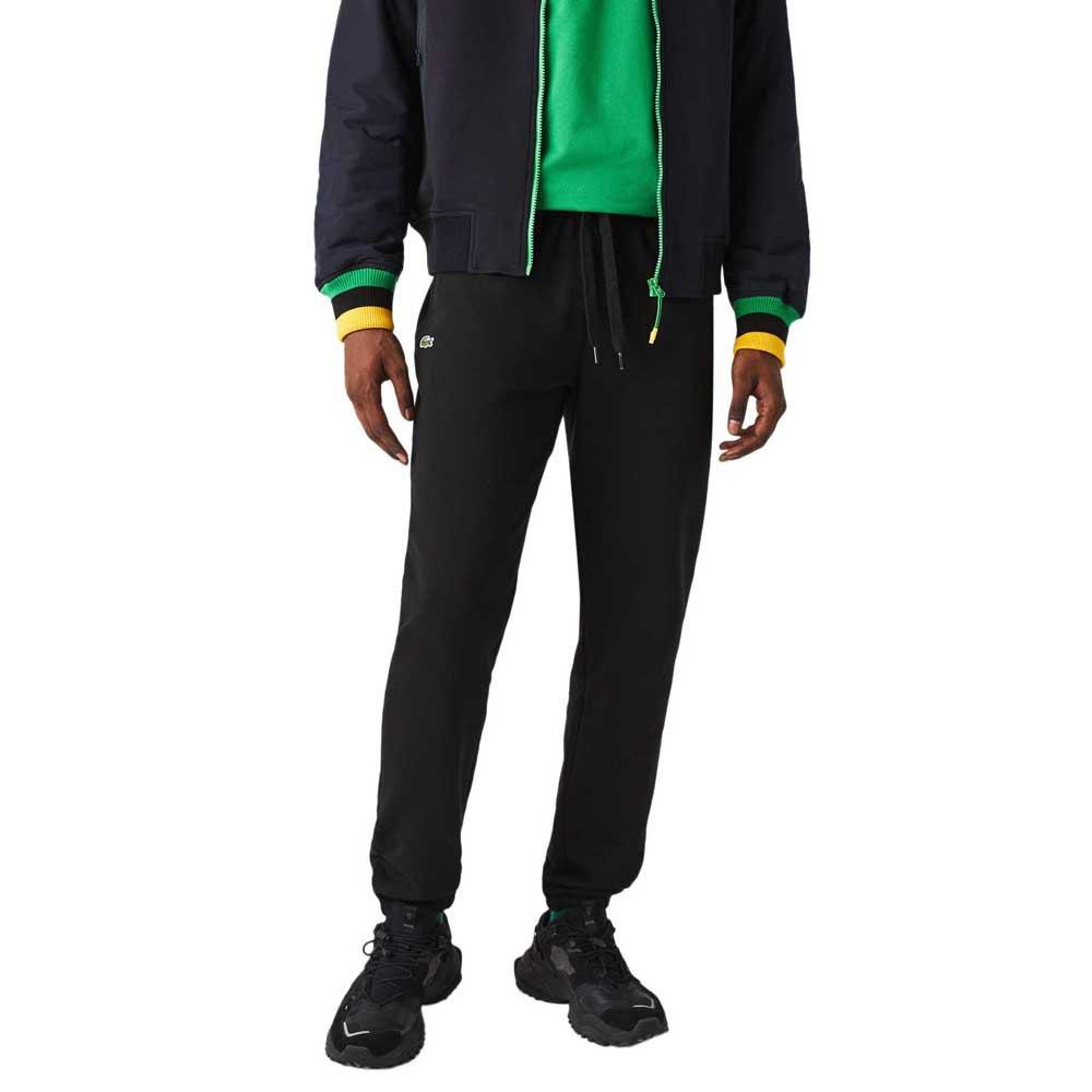 Lacoste Pantalon Longue Track In Fleece M Black
