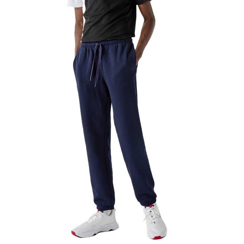 Lacoste Pantalon Longue Tennis Track S Navy Blue