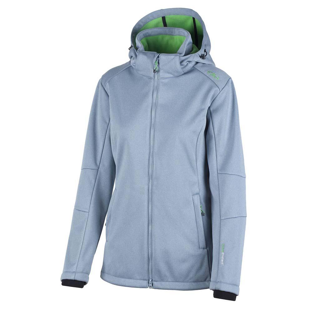 cmp-fix-hood-jacket-melange-l-steel-melange-mojito, 59.49 EUR @ snowinn-deutschland
