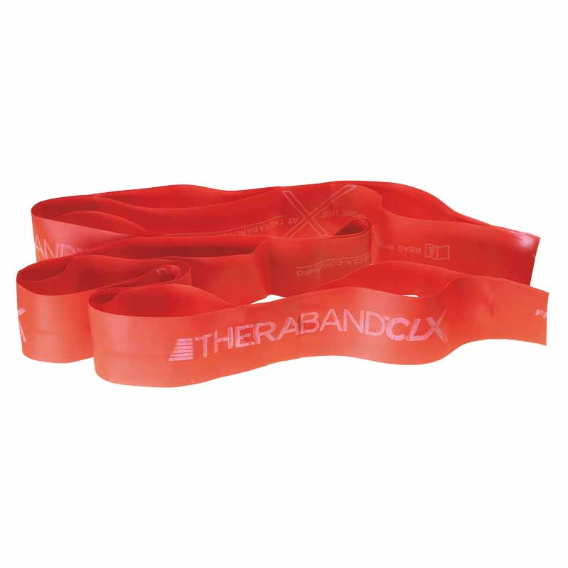 Theraband Clx 11 Loops Medium 1.7 Kg Red