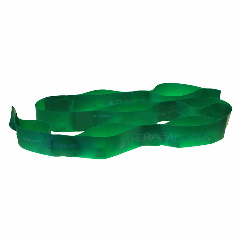 Theraband Clx 11 Loops Strong 2.1 Kg Green