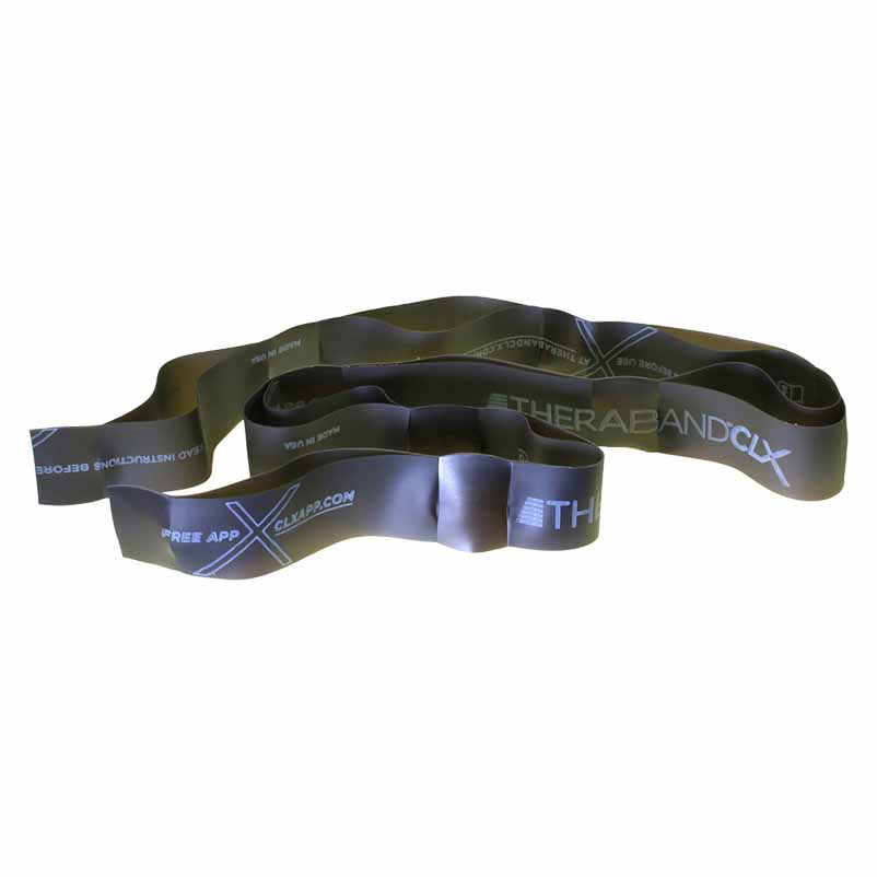 Theraband Clx 11 Loops Strong Special 3.3 Kg Black