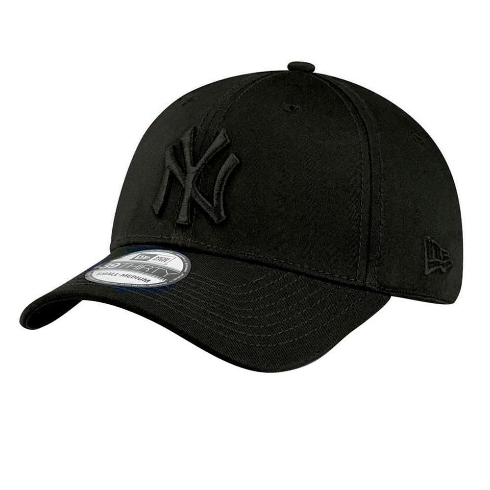 New Era 39thirty New York Yankees S-M Black / Black