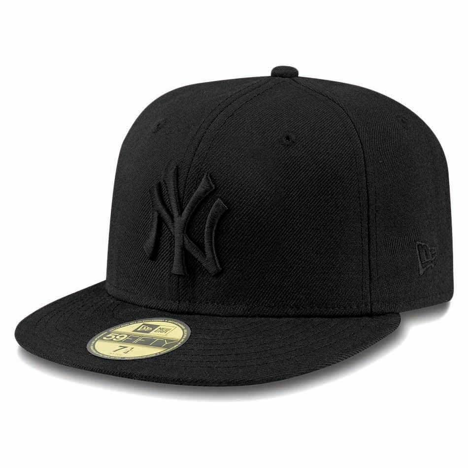 New Era 59fifty New York Yankees 7 3/4 Black