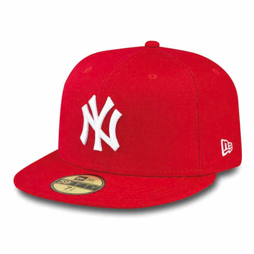 New Era 59fifty New York Yankees 8 Red / White