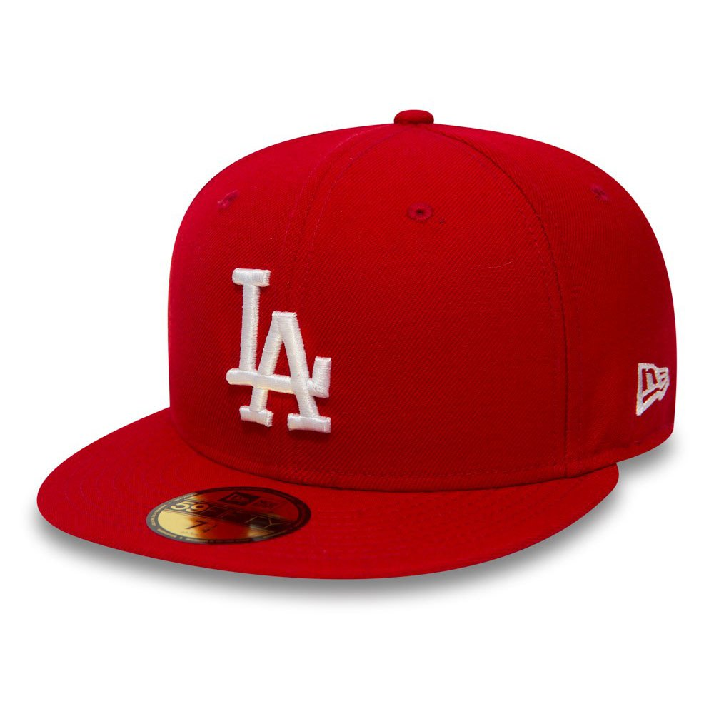 New Era Casquette 59fifty Los Angeles Dodgers 7 Red / White