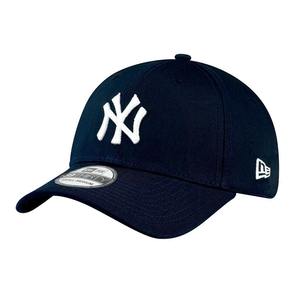 New Era 39thirty New York Yankees S-M Navy / White