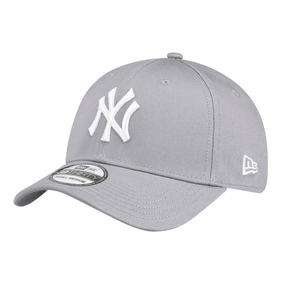 New Era 39thirty New York Yankees S-M Gray / White