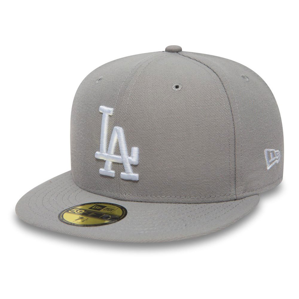 New Era 59fifty Los Angeles Dodgers 8 Gray / White