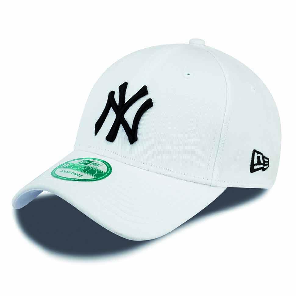 New Era 9forty New York Yankees One Size White / Black