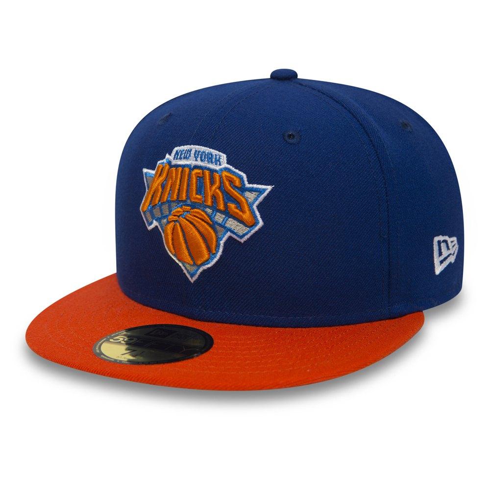 New Era 59fifty New York Knicks 7 Blue / Orange