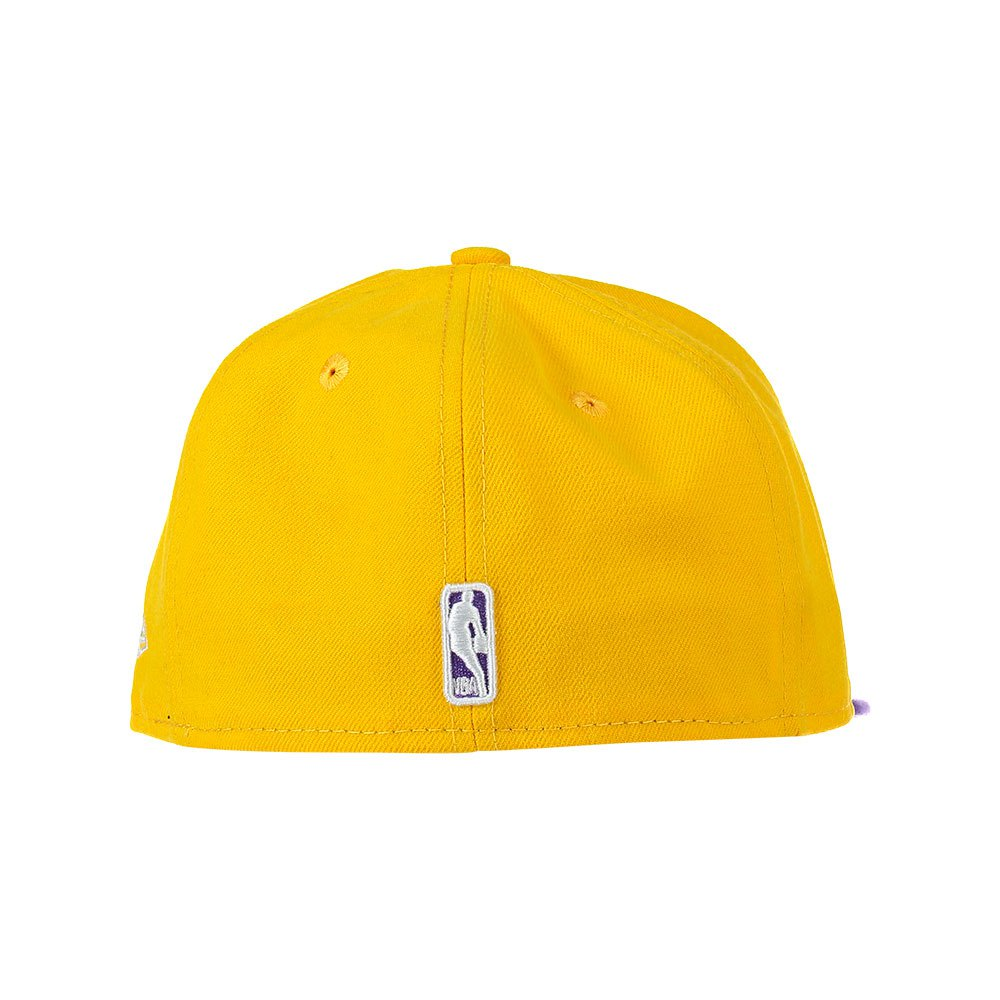New Era 59 Fifty Los Angeles Lakers Yellow  382de90aee2