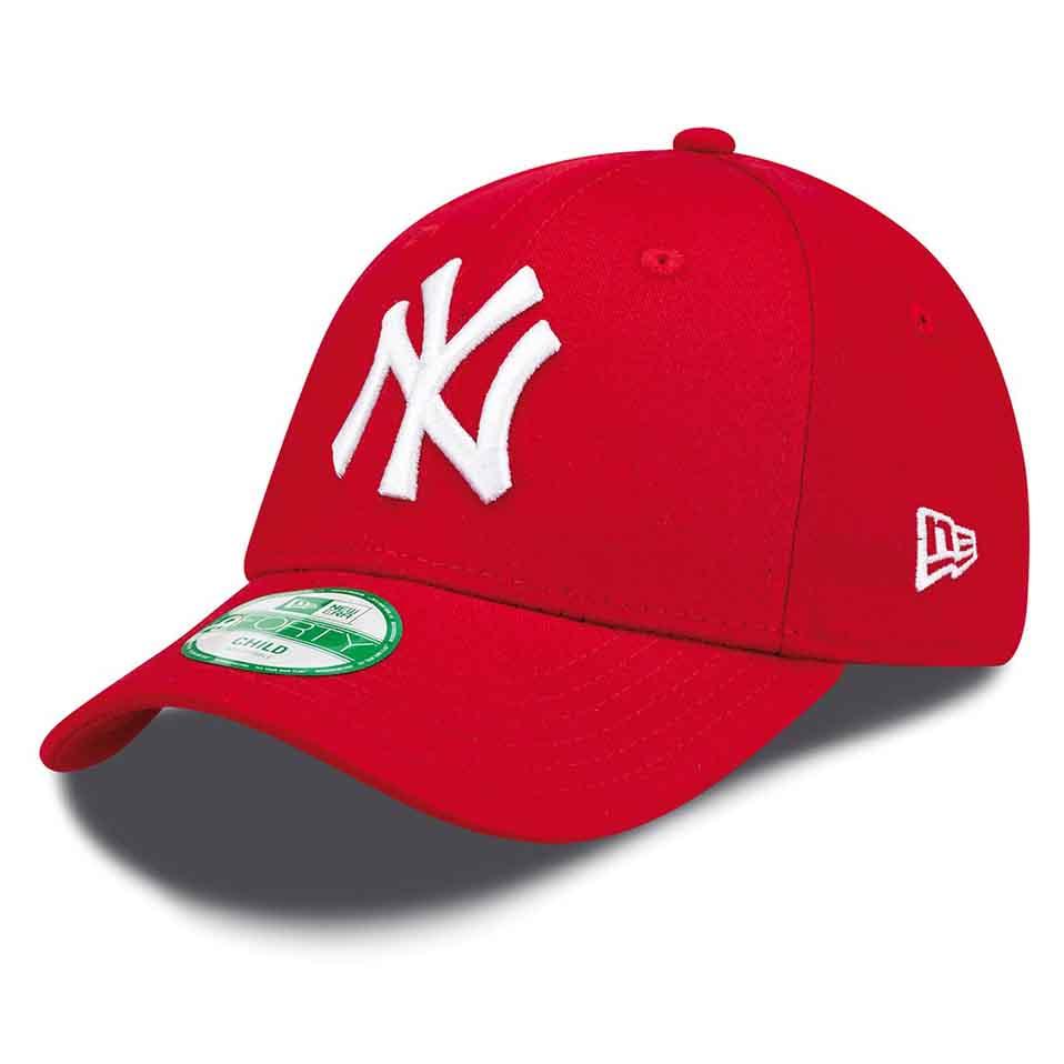New Era 9 Forty New York Yankees Child Red / White