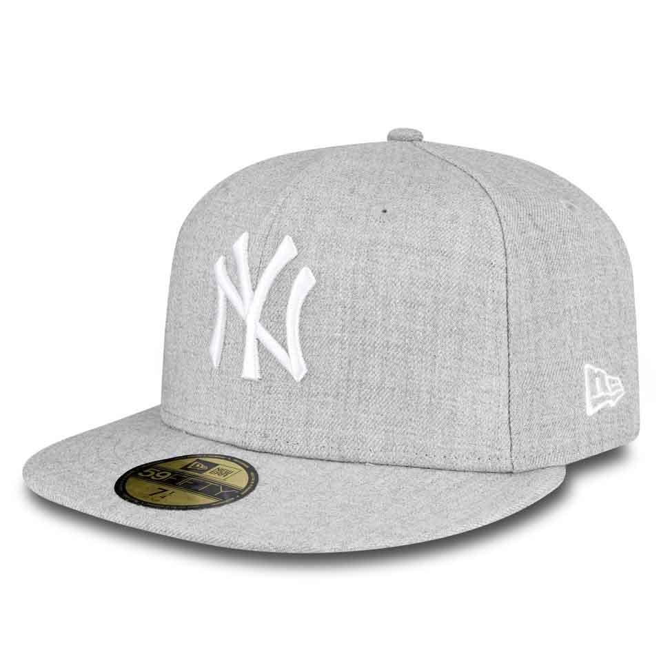 New Era 59fifty New York Yankees 8 Grey / White