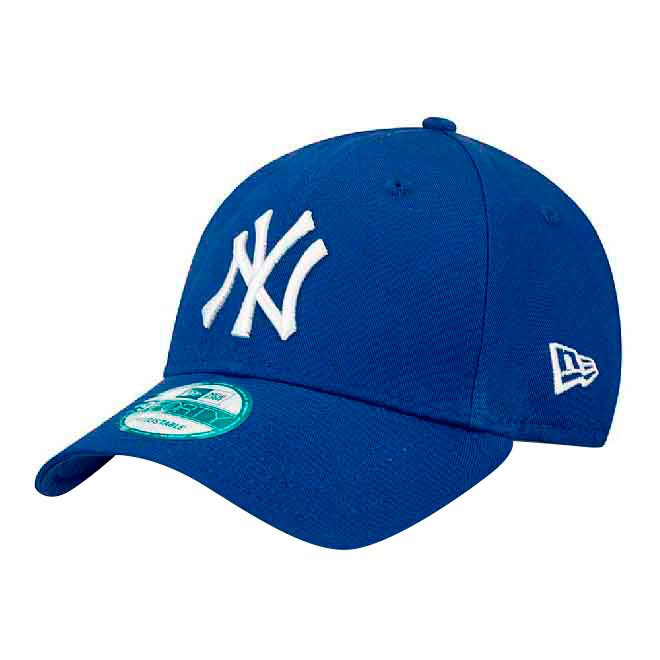 New Era 9forty New York Yankees One Size Royal / White