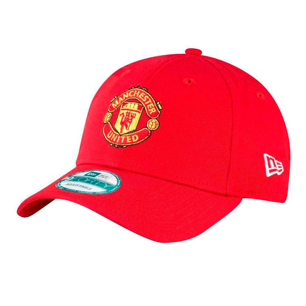 New Era 9fortymanchester United Fc One Size Red