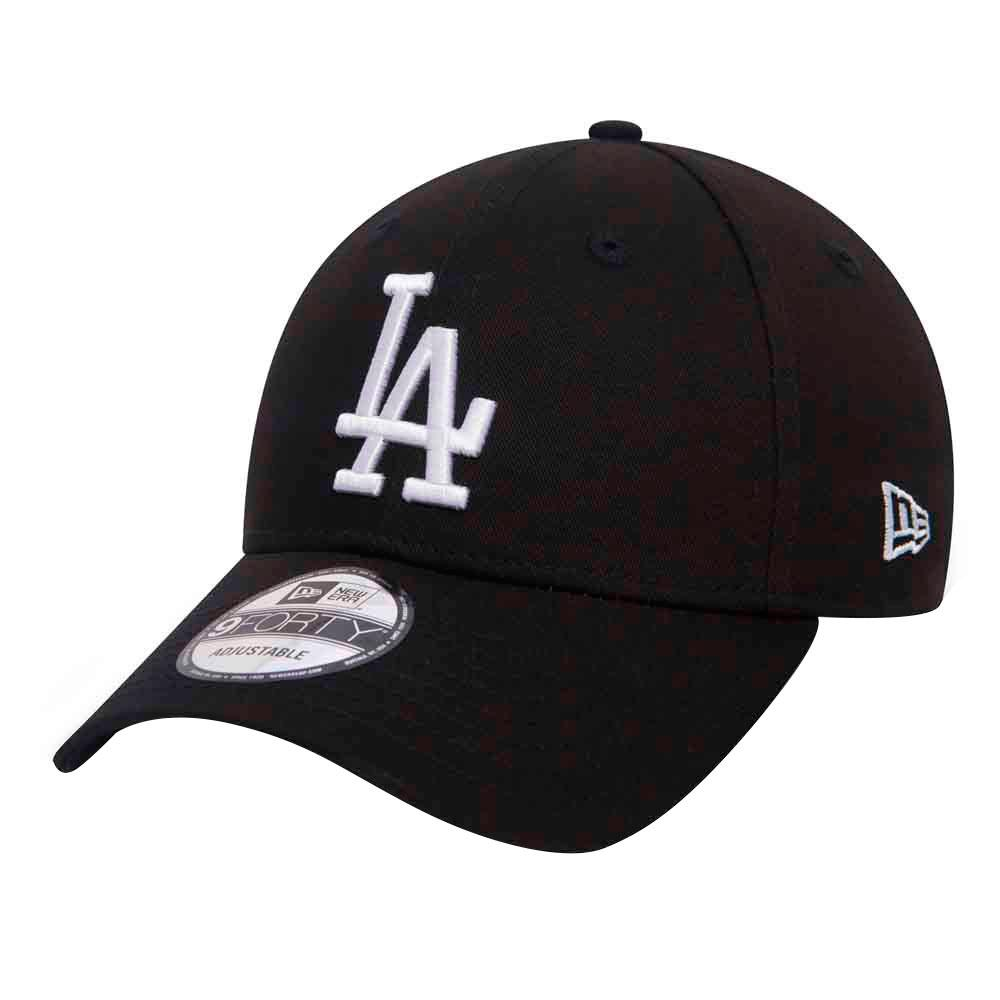 New Era Casquette 9forty Los Angeles Dodgers One Size Black / White