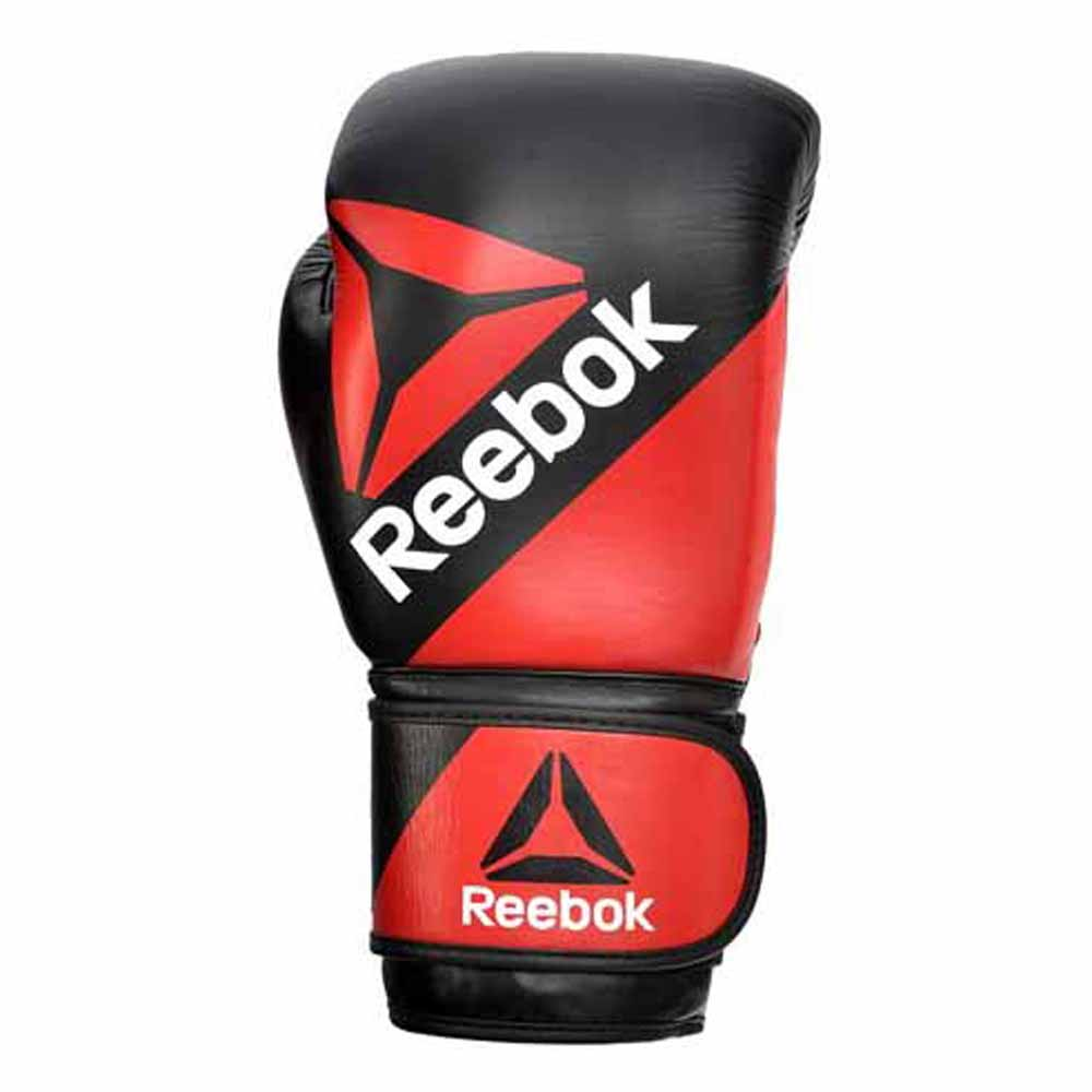 Reebok Fitness Combat Leather Training 10 Oz Red/Black