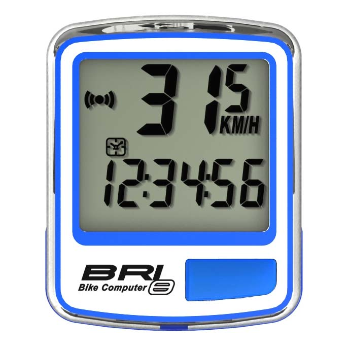 Echowell Bri-8 Bri-8 Echowell Blue , Compteurs vélo Echowell , cyclisme , Electronique b82970
