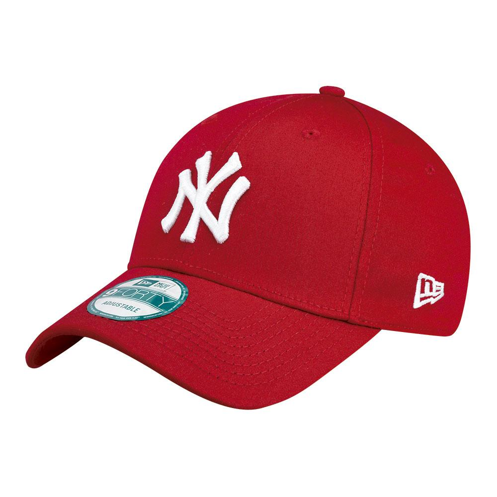 New Era 9forty New York Yankees One Size Red / White