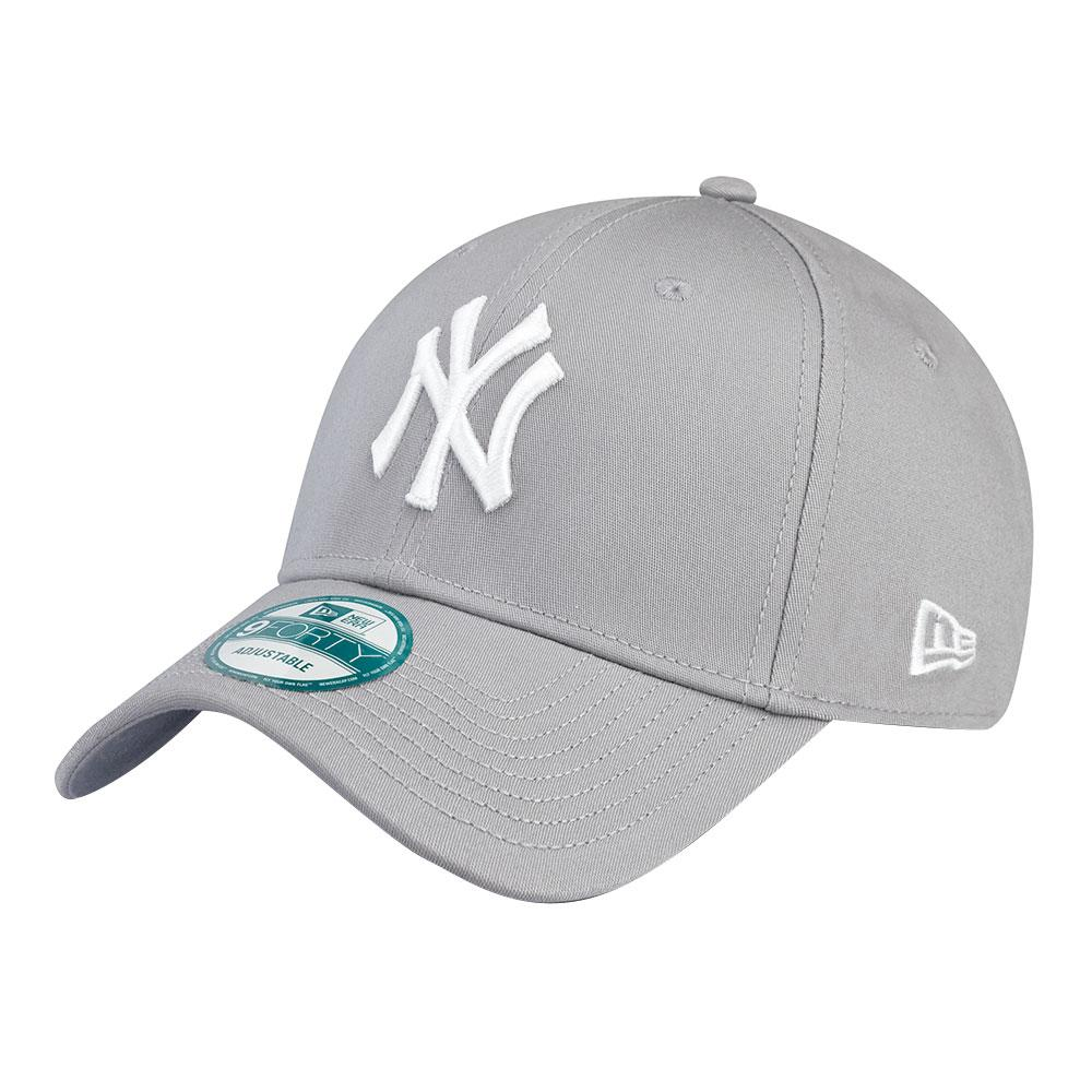 New Era 9forty New York Yankees One Size Gray / White