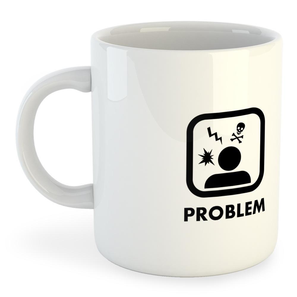 Kruskis Mug Problem Solution Run blanco , Accesorios Kruskis Kruskis Kruskis , running 48a6a6