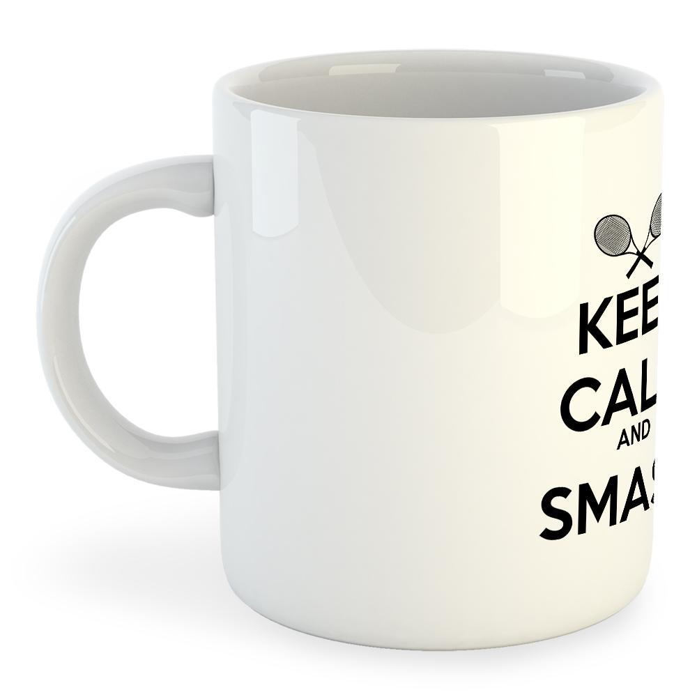 Kruskis Mug Keep Calm And Smash 325ml 325 ml (11 oz) White