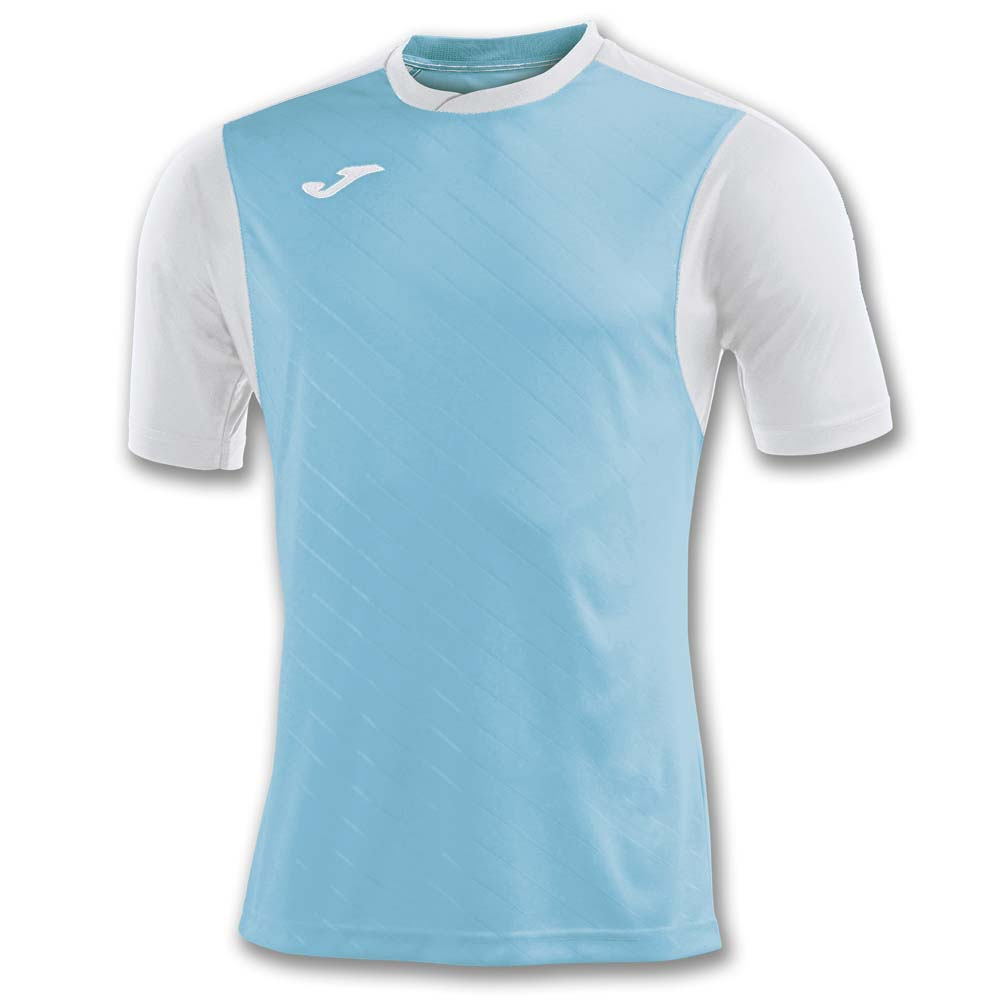 Joma Torneo Ii Short Sleeve T-shirt XL White / Turquoise