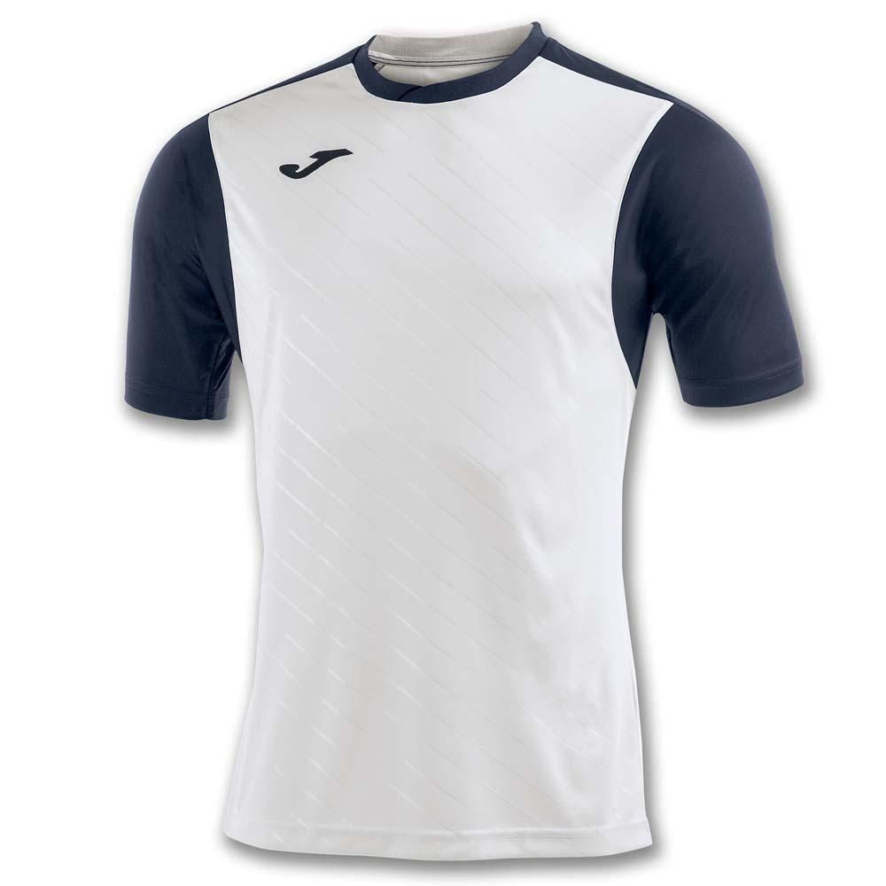 Joma Torneo Ii Short Sleeve T-shirt S White / Navy